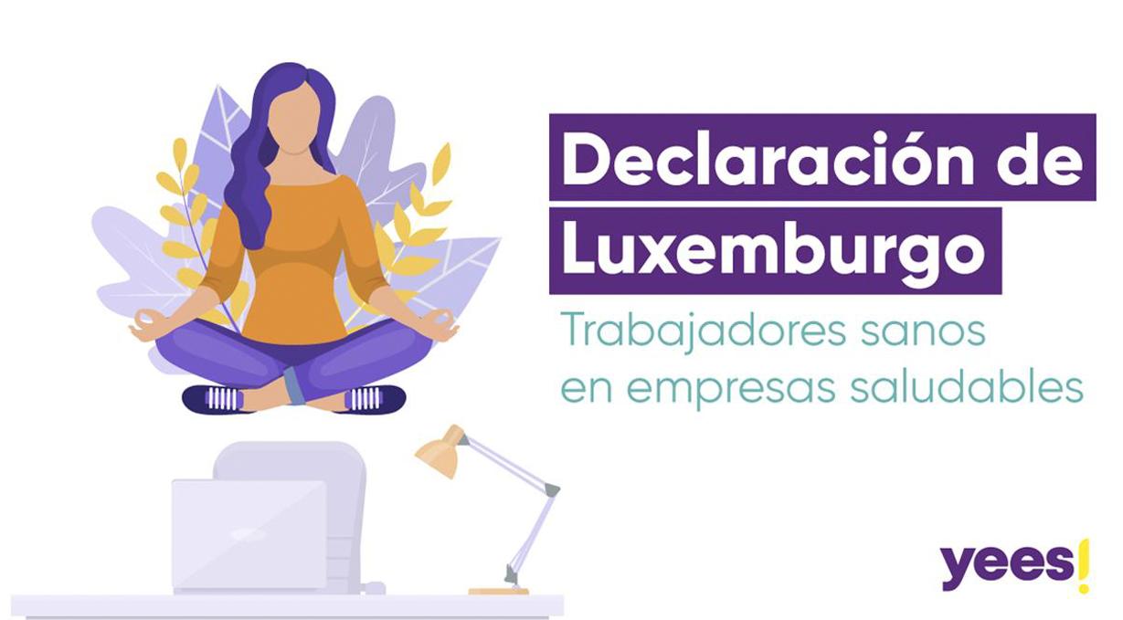 Nos hemos adherido a la Declaración de Luxemburgo