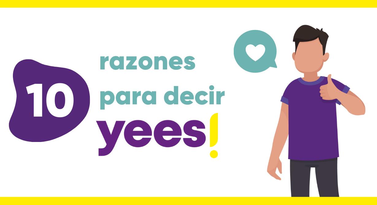 7ª razón para decir Yees!